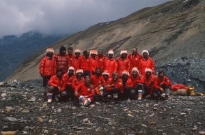 Italian Expedition with Sherpa